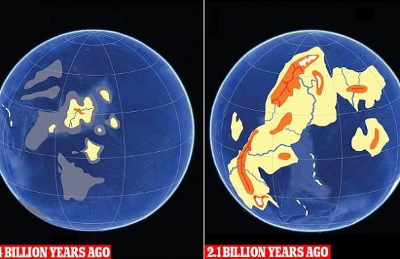 Scientists reveal how continents first emerged 2.4 billion years ago