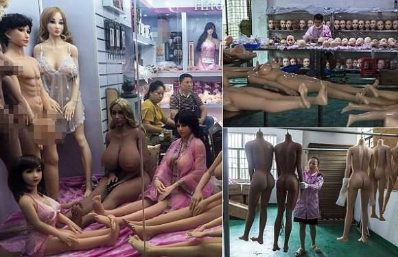 Inside China's sex robot factory where perverts order AI dolls