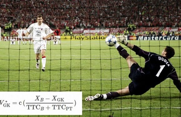 Formula for penalty saves revealed ahead of Champions League final
