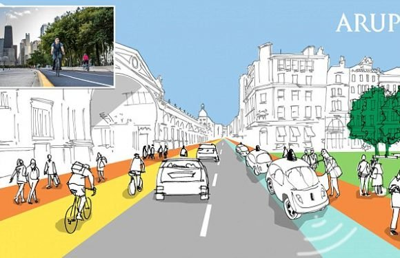 'Flexible kerb' concept is to be tested on London roads