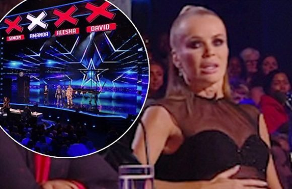 Simon Cowell swears at stage invader on Britain's Got Talent