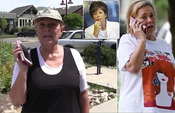 Roseanne is seen for first time since her racist Twitter rant