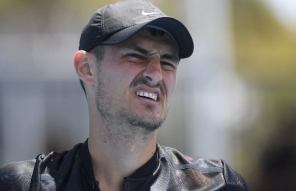 Tomic slide continues, set to hit lowest ranking since in eight years