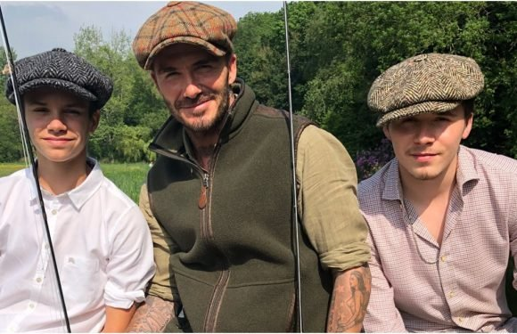 In Case You Were Wondering, David Beckham Also Looks Sexy in a Fishing Outfit