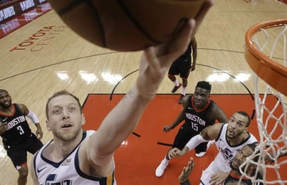 Ingles' barrage lifts Jazz over Rockets
