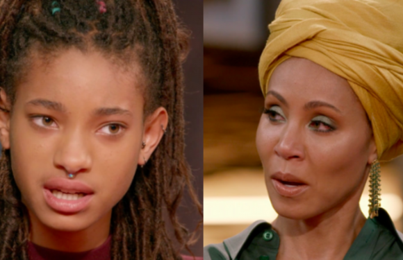 Willow Smith Tells A Shocked Jada Pinkett Smith She Self-Harmed As A Preteen