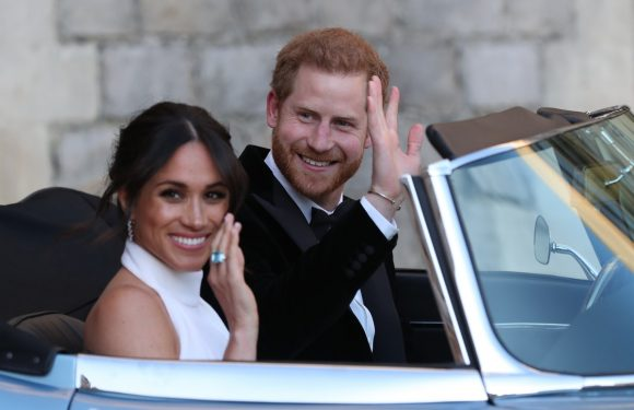 Meghan Markle Wore One Of Princess Diana's Rings To Her Wedding Reception & Now I'm Sobbing