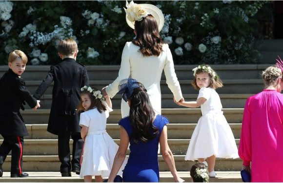 Bask in the Adorableness of All the Kids at the Royal Wedding