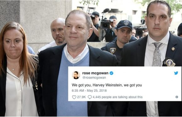 These Reactions to Harvey Weinstein's Arrest Show Just How Meaningful This Moment Is