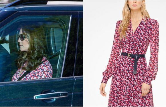 Hold Up —Did You See the Practical Summer Dress Kate Middleton Wore to the Wedding Rehearsal?
