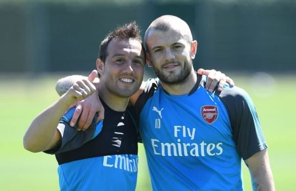 5 things we noticed as Cazorla trains at Arsenal after 19 months out