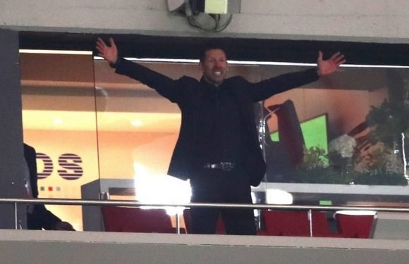 Simeone to miss Europa League final as UEFA hit Atletico boss with touchline ban