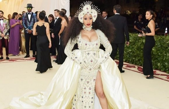 Cardi B Credits Her Unborn Baby With Enhancing Her Bust