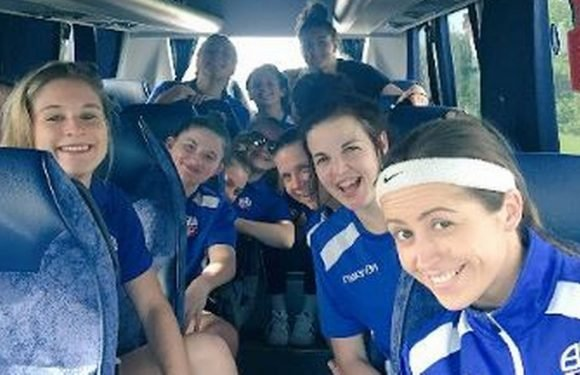 Fans spot something very naughty in pic taken on Bolton Ladies team bus