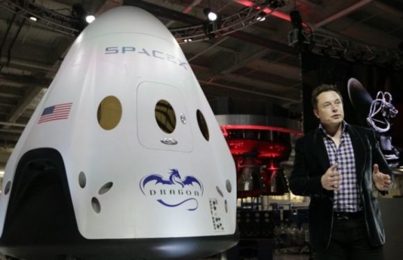Elon Musk Unveils Exclusive Photo Of SpaceX's Crew Dragon Capsule
