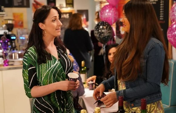 Sonia and Stacey battle it out for Martin's affections in EastEnders