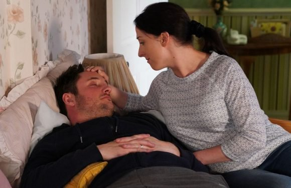 Sonia Fowler kisses Martin on EastEnders