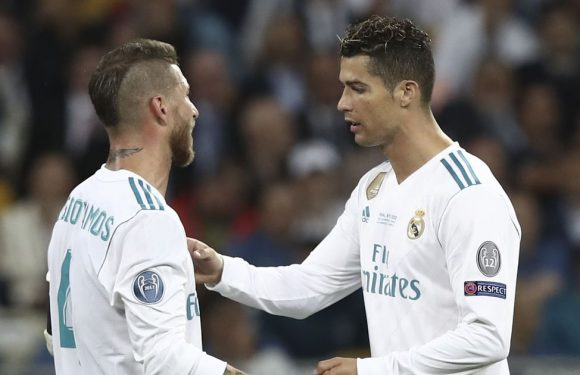 What Ramos said to Ronaldo in dressing room after he dropped transfer bombshell