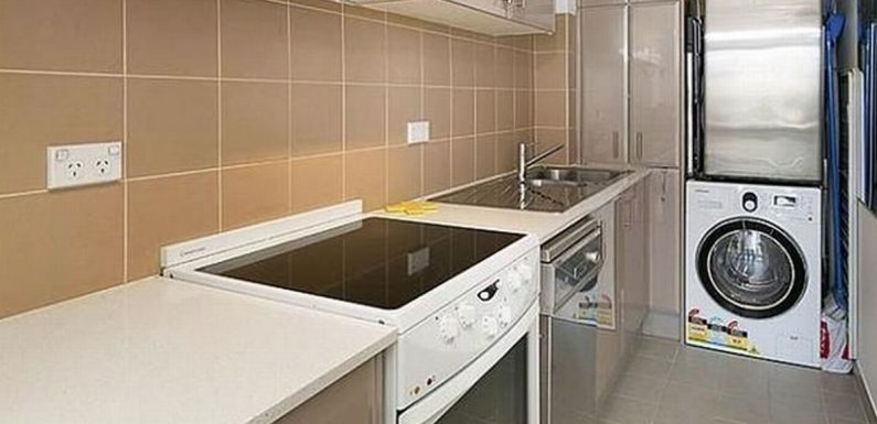 People have spotted something odd in this kitchen – and they're very confused