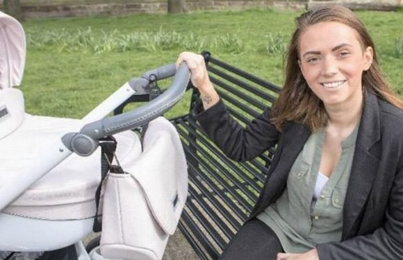 New mum 'turns life around' after being told baby would be taken away