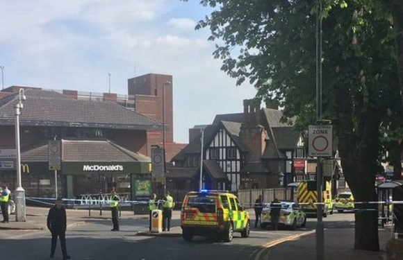 Boy, 16, stabbed to death outside McDonald's in broad daylight