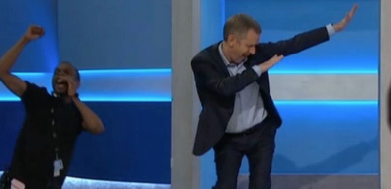 Most ridiculous ever Jeremy Kyle entrance leads to cringe host learning to dab