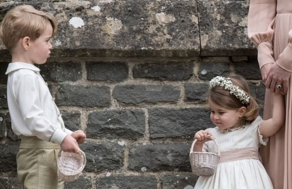 What George and Charlotte could wear for Meghan & Harry's wedding