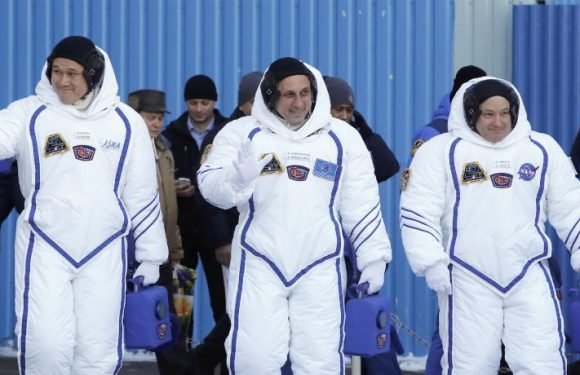 Three Astronauts Aboard The ISS Are Set To Come Home This Weekend