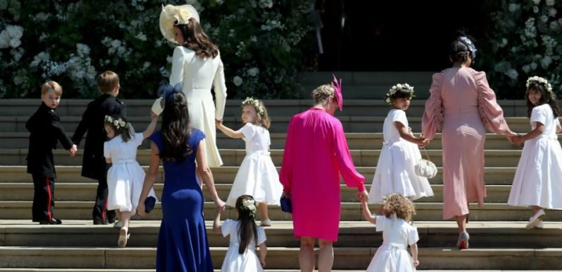 Royal Wedding Photographer Shares Secret Of Getting Children To Cooperate For Official Portrait