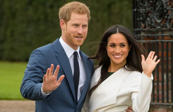 Picture reveals Queen's royal seal of approval for Harry to wed Meghan