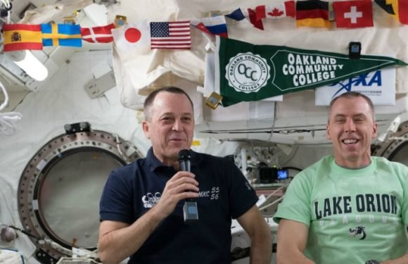 NASA Is Hosting Two Earth-To-Space Calls With ISS Astronauts Ricky Arnold and Drew Feustel