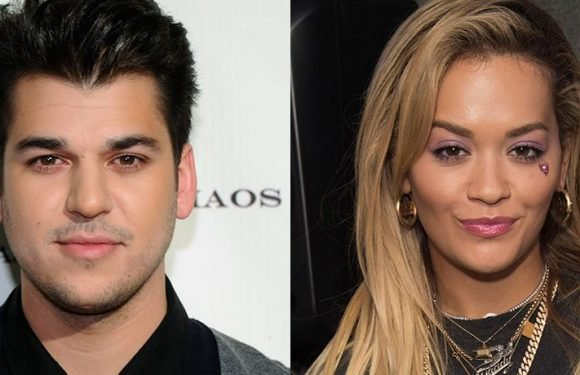 Rob Kardashian Shows His Support For Rita Ora's New Song, 'Girls'