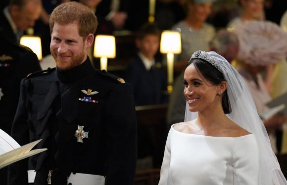 People think Prince Harry said something very rude to Meghan at the altar