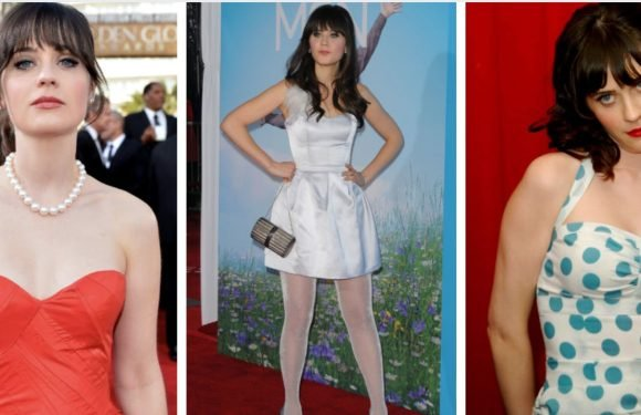 12 Photos Of Zooey Deschanel Looking Like A Total Bombshell And 12 Outfits That Were Flops