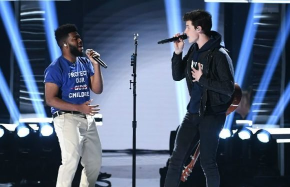 Shawn Mendes And Khalid Pay Tribute To Gun Violence Victims On Billboard Music Awards