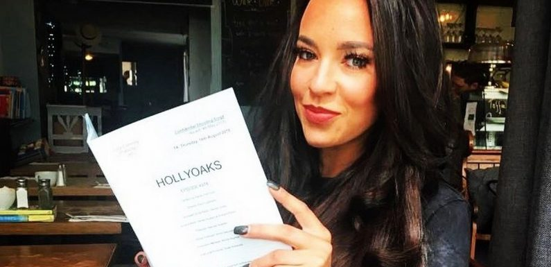 Hollyoaks star hopes he's not working with Stephanie Davis for big reason