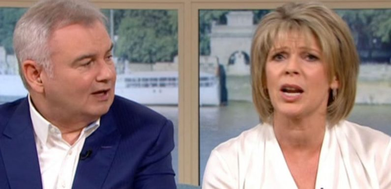 Ruth can't hide her anger with Eamonn after he flirts with 'ex' Anthea Turner
