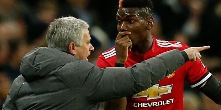 Paul Pogba admits rowing with Jose Mourinho but says it's good for him and Man Utd