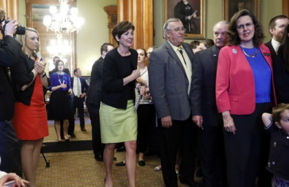 Iowa Governor Kim Reynolds Signs Restrictive 'Fetal Heartbeat' Abortion Ban Into Law
