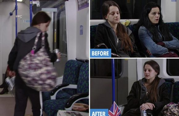 EastEnders viewers spot massive blunder as girl gets off Tube to buy beer and gets back on SAME carriage