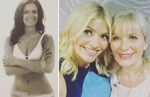 Holly Willoughby wows fans with pics of her 'mega babe' mum Lynne in touching 70th birthday tribute on Instagram