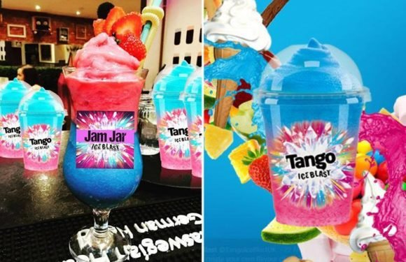 There's finally an alcoholic Tango Ice Blast cocktail… but it's only on sale in ONE British bar
