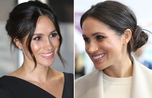 Meghan Markle's messy up do is the most searched for wedding hairstyle… and here's how you can get the look at home