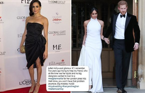 High-end designers refused to dress Meghan Markle before she met Prince Harry 'because she wasn't famous enough'