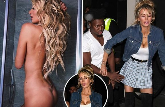 Olivia Attwood poses completely naked before looking all partied out following birthday bash