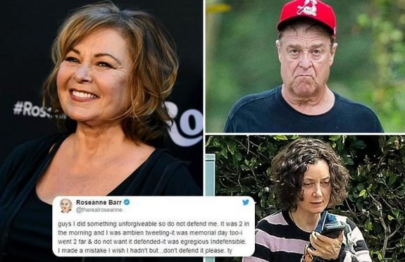 Now Roseanne claims she thought Obama aide was WHITE after blaming racist outburst on her sleeping pills