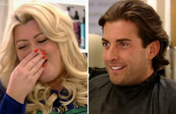 Towie's James 'Arg' Argent confesses to girlfriend Gemma Collins that he wears her clothes