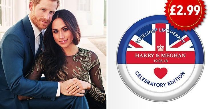 Vaseline have released a limited edition ROYAL WEDDING themed tin… and here's where you can get hold of one
