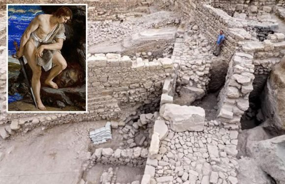 Ancient lost city of King David that is mentioned in the Bible is uncovered near Jerusalem