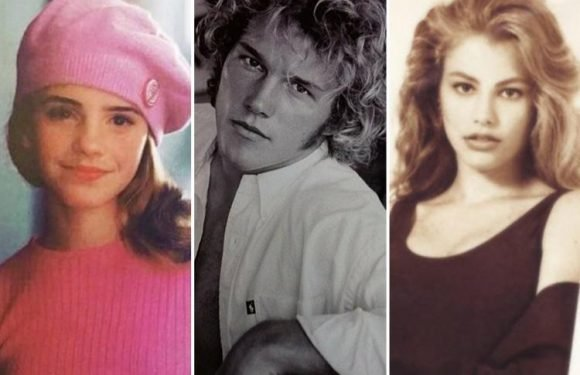 Emma Watson and Chris Pratt look unrecognisable as stars share their old headshots – but Sofia Vergara looks exactly the same